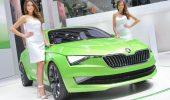 Người mẫu xe hơi tại Geneva Motor Show 2014