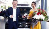 Ca sỹ Phạm Quỳnh Anh báo tin vui tậu xế hộp Mercedes GLC 250 2019