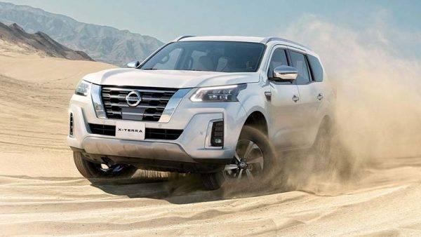 Nissan Terra 2021 về Việt Nam