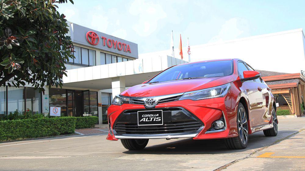 Toyota Altis 2022 về Việt Nam