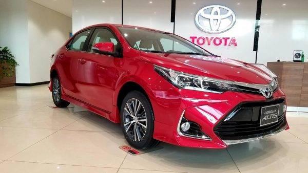 Toyota Corolla Altis 2022 về Việt Nam
